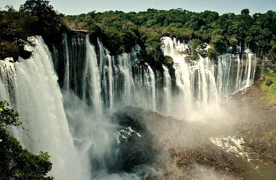 by Kostadin Luchansky - KODILU photography on Flickr.Kalandula Falls are waterfalls in Malanje Province, Angola. The falls are 104 meters high and are one of the largest waterfalls by volume in...