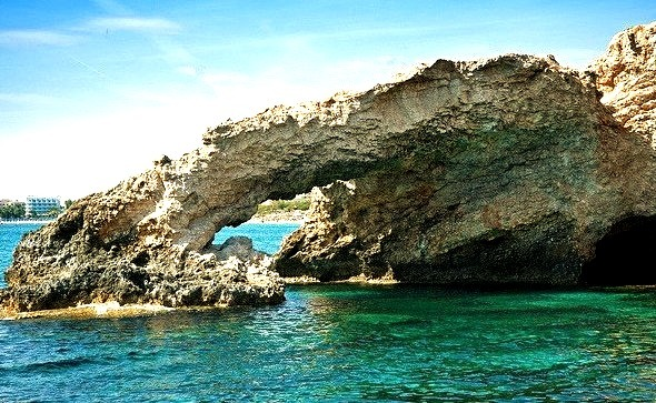Ayia Napa beach - southern coast of Cyprus.