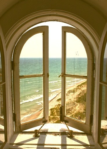 Arched Windows, West Cliff Beach, Whitby, England