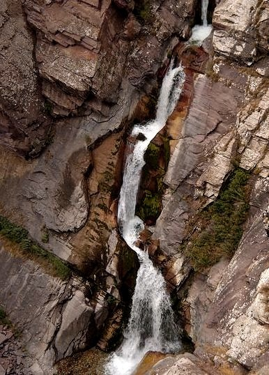 by Martin Lopatka on Flickr.Kshi Kayindi waterfall in Aksu-Zhabagly State Natural Reserve, Kazakhstan.
