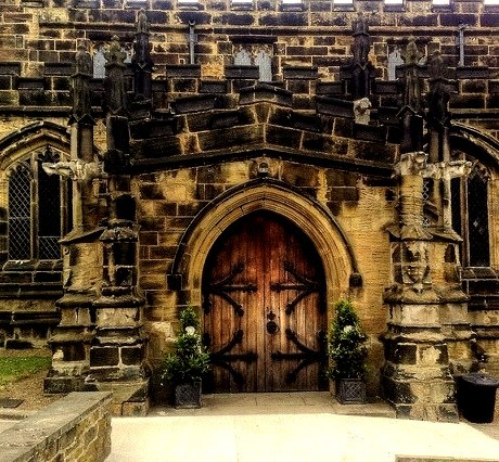 Medieval Church, Yorkshire, England