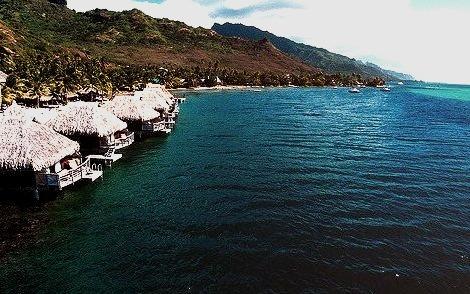 Over-Water Resort, Moorea
