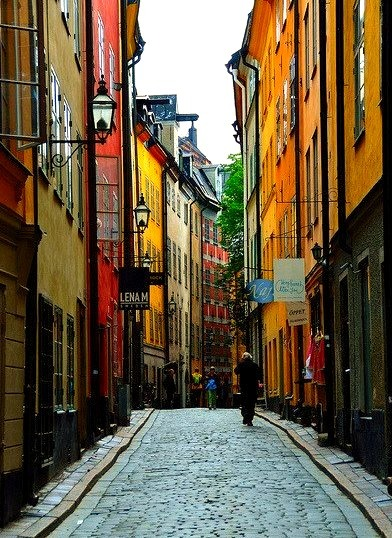 Gamla Stan, the old quarter of Stockholm / Sweden